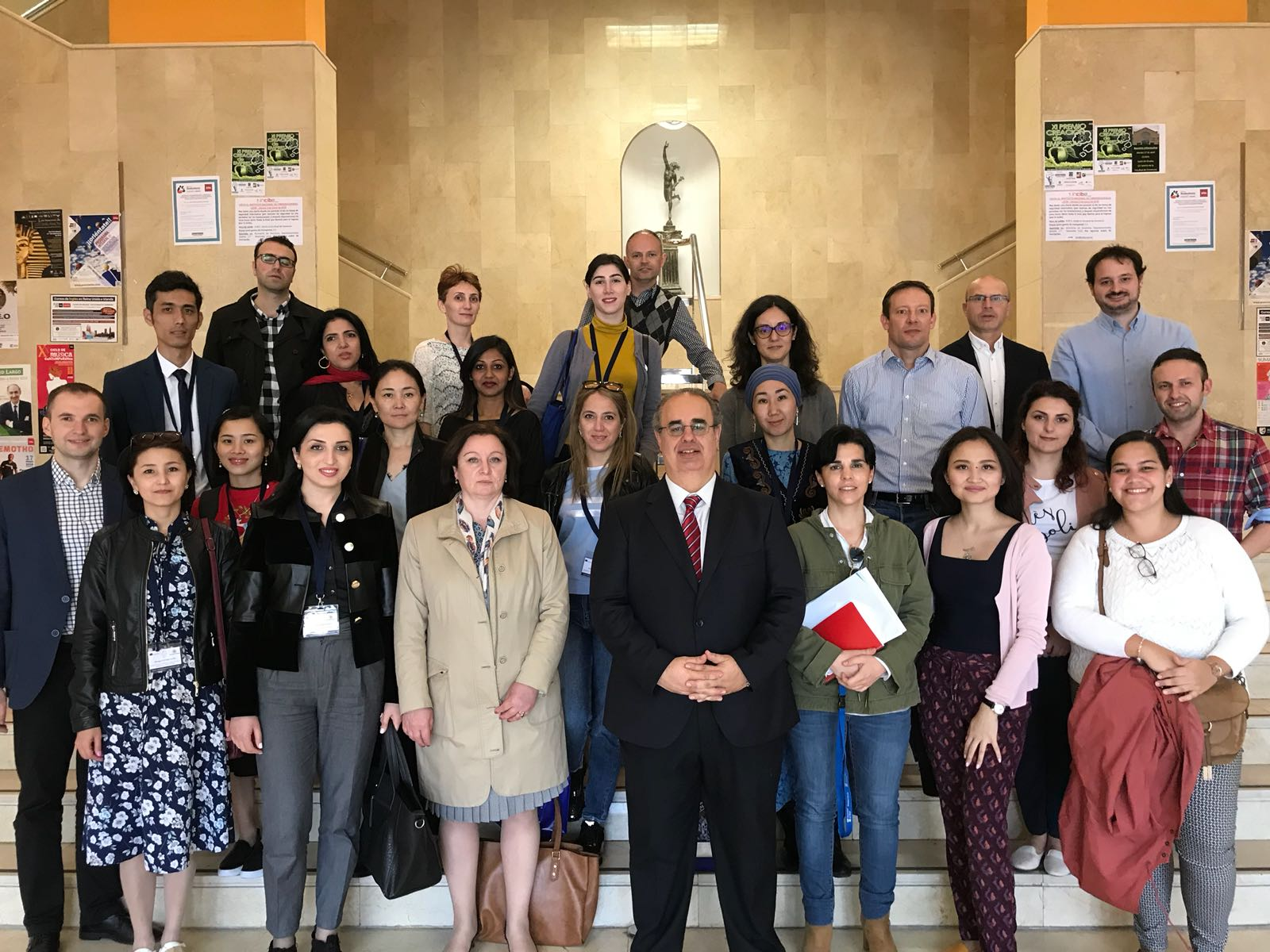 Semana Internacional para universidades, programa Erasmus K107
