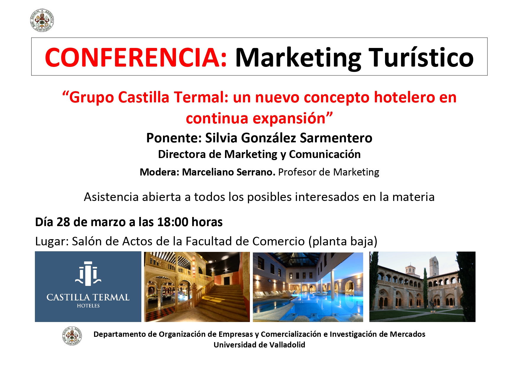 Conferencia: Marketing Turístico