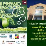 XII Premio Creación de Empresas: Reunión Informativa