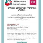Conferencia: Cambios normativos y Reforma Laboral
