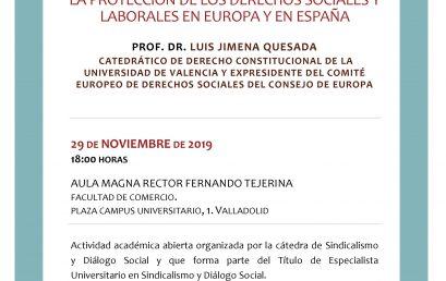 La protección de los derechos sociales y laborales en Europa y en España