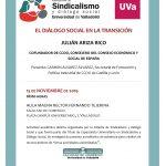 CONFERENCIA: EL DIÁLOGO SOCIAL EN LA TRANSICIÓN
