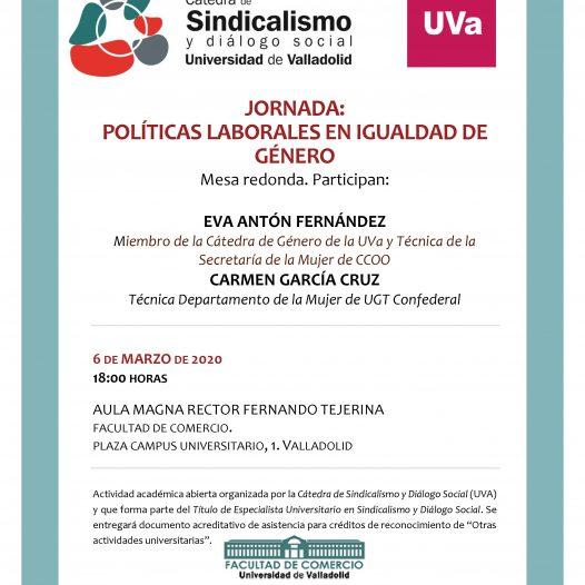 Jornada: Políticas Laborales en Igualdad de Género
