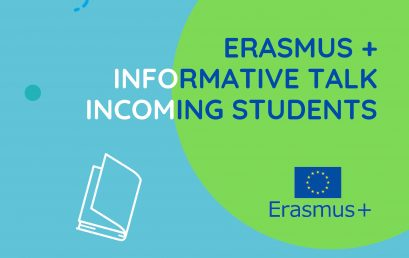 Erasmus + Informative talk Incoming students